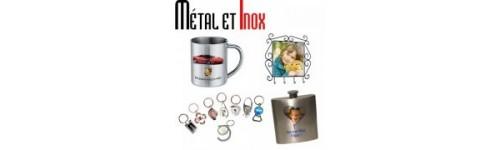 Gamme sublimation objets métal et objets inox