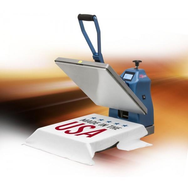 Presse à chaud HAUT DE GAMME manuelle 41x51cm pour marquages exigeants.